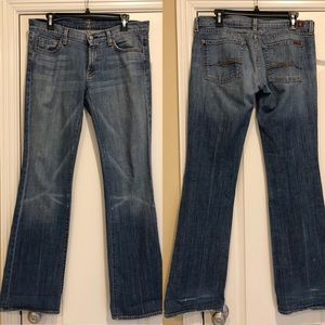 7 for all mankind bootcut Jeans size 31x33
